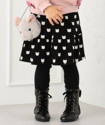 anyFAM(KIDS)/【80~130cm】スムースプリント 裏起毛スパッツ付きスカート/502752241