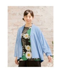 KAYA/【カヤ】なつの羽織り カーディガン ライトブルー/502413282