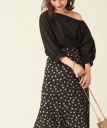 NICE CLAUP OUTLET/【every very nice claup】ワンショルレースブラウス/502742749