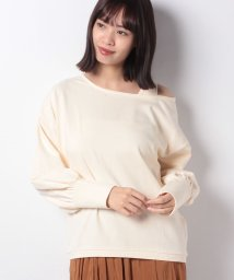 NICE CLAUP OUTLET/【every very nice claup】ワンショル肌見せトップス/502742755