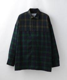 LOVELESS MENS/【SUPERTHANKS】MEN スウィッチング バックオープンシャツ ST193SH001/502562927