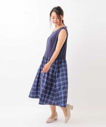 eur3/【大きいサイズ】スカート見え実現!レイヤードインナーワンピース/502699188