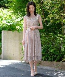 STRAWBERRY FIELDS/◆DVスカラレース ドレス/502700402