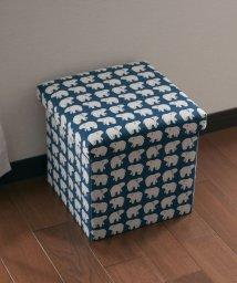 En Fance/座ってしまえて畳める便利ボックス シロクマ/502710296