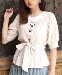 NICE CLAUP OUTLET/【one after another】SETフェア Tシャツsetブラウス/502742712