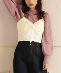 NICE CLAUP OUTLET/【one after another】Sakashita flower Bustier/502742714