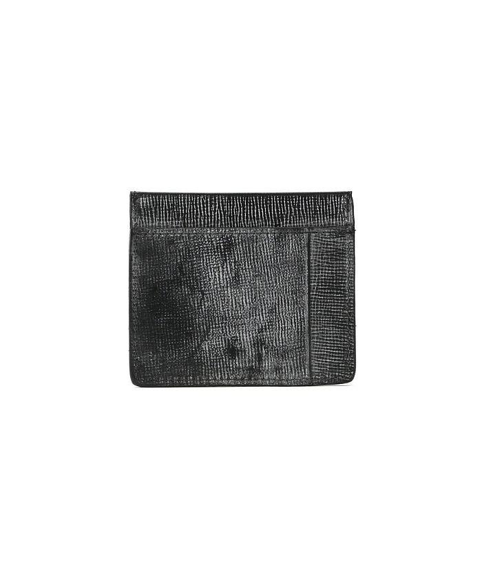 ギャレリア グレンロイヤル カードケース GLENROYAL LAKELAND BRIDLE COLLECTION CARD CASE WITH NOTE 03−5935 ユニセックス ブラック F 【GALLERIA】