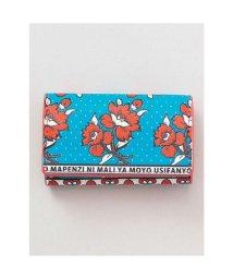 CAYHANE/【チャイハネ】アフリカ・カンガ柄 カード&コインケース ブルー/502755722