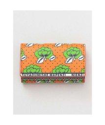 CAYHANE/【チャイハネ】アフリカ・カンガ柄 カード&コインケース オレンジ/502755725
