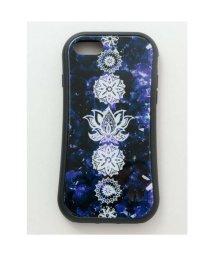 CAYHANE/【チャイハネ】iPhone8/7兼用ガラス製スマホケース ロータス ダークパープル/502755950
