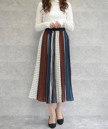 felt maglietta/パッチワーク柄スカート/502759662