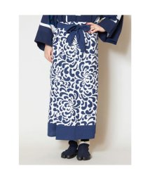 KAYA/【カヤ】藍色ならいスカート ネイビー/502762865