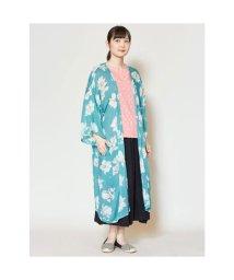 KAYA/【カヤ】木蓮UVロングカーディガン 羽織り グリーン/502762899