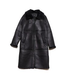 GUESS/ゲス GUESS DOUBLE FACED LONG JACKET (BLACK)/502763651