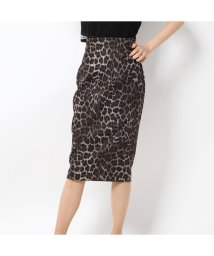 GUESS/ゲス GUESS ZARIA ANIMAL SKIRT (CHIC LEO PRINT BIG COMBO)/502763654