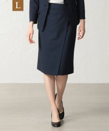 TRANS WORK( L)/【L】【セットアップ対応】【美skirt】【UV対策】【ウォッシャブル】プライムフレックスコードレーンスカート/502764158