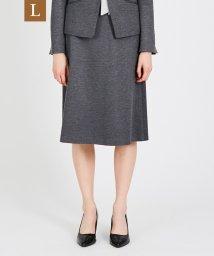 TRANS WORK(L)/【L】【セットアップ対応】【美Skirt】ストレッチポンチスカート/502764224