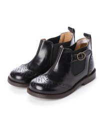 YOSUKE/ヨースケ YOSUKE キッズアイテム[直営SHOP限定モデル]本革ブーツ (ブラック)/502764509