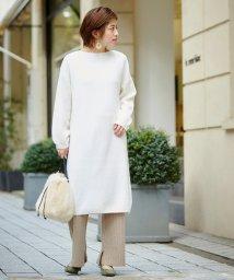 le.coeur blanc/ラム片畦ワンピース/502338198