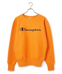 JUNRed/【Champion】ロゴ刺繍リバースウィーブクルーネックスウェット/502718352