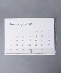 UNITED ARROWS/カサイカオルカレンダー 2020(罫線なし)/502725195