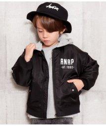 ANAP KIDS/BACKプリントMA-1/502726838