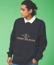 TOMMY HILFIGER MENS/アイコンロゴラグビースウェット/502737993