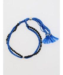 CAYHANE/【チャイハネ】ヒマラヤストーン藍色ブレスレット BLACK ONYX CHGZ9301/502768085