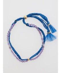 CAYHANE/【チャイハネ】ヒマラヤストーン藍色ブレスレット AMETHYST CHGZ9307/502768091