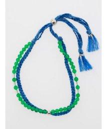 CAYHANE/【チャイハネ】ヒマラヤストーン藍色ブレスレット GREEN AGATE CHGZ9308/502768092