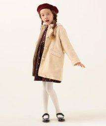 SHIPS KIDS/SHIPS KIDS:エコファー カラー コート(100~130cm)/502768563