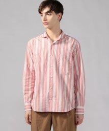 TOMORROWLAND MENS/コットンストライプ ホリゾンタルカラーシャツ/502769529