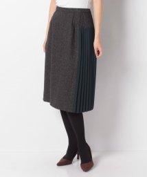 Leilian/サイドプリーツスカート/502707514