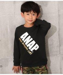ANAP KIDS/裏シャギーロゴトレーナー/502765105