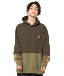 glamb/Bicolor hoodie/502769754
