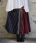 osharewalker/『n'Orマルチカラー切替ストライプスカート』/502770429
