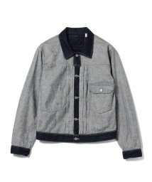 BEAMS OUTLET/LEVI'S(R) × BEAMS / 別注 Inside Out Trucker jacket/502010880