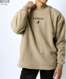 MARUKAWA/【KANGOL】カンゴール シープボア ミニロゴ刺繍 クルーネック/502704810