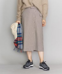 BEAUTY&YOUTH UNITED ARROWS/BY ハウンドトゥースチェックラップタイトスカート/502745262