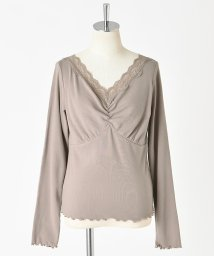NICE CLAUP OUTLET/【one after another】レース長袖インナー/502750749