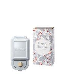 BRUNO/《Happy Holidays》ホットサンドメーカー シングル ギフトセット/502766246