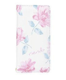 Mーfactory/rienda[全面/Lace Flower/ホワイト]手帳ケース iPhone8/7/6/502768378