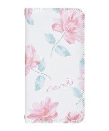 Mーfactory/rienda[全面/Lace Flower/ホワイト]手帳ケース iPhoneX/XS/502768382