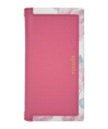 Mーfactory/rienda[スクエア/Lace Flower/ピンク]手帳ケース iPhoneXR/502768393