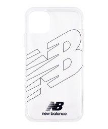 Mーfactory/New Balance [TPUクリアケース/フライングロゴ/ブラック] iPhone11/502768395