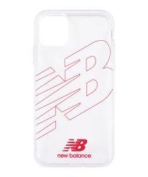Mーfactory/New Balance [TPUクリアケース/フライングロゴ/レッド] iPhone11/502768396