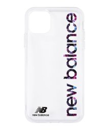 Mーfactory/New Balance [TPUクリアケース/縦ロゴ/フラワー柄] iPhone11/502768397