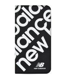 Mーfactory/New Balance [スリム手帳ケース/スタンプロゴ/ブラック] iPhone11/502768403