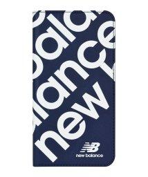 Mーfactory/New Balance [スリム手帳ケース/スタンプロゴ/ネイビー] iPhone11/502768405
