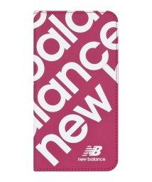 Mーfactory/New Balance [スリム手帳ケース/スタンプロゴ/ピンク] iPhone11/502768406